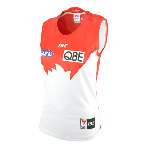 Sydney Swans 2019 ISC Womens Home Guernsey Red
