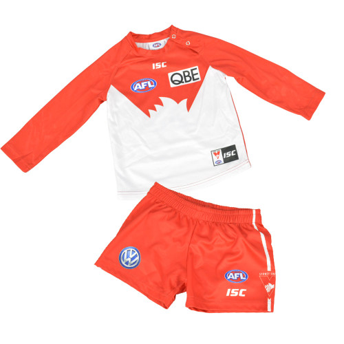 Sydney Swans 2019 ISC Toddlers Home Guernsey Set Red