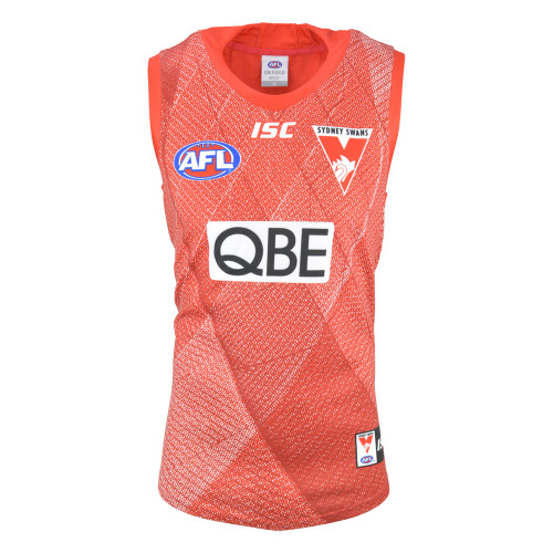 Sydney Swans 2019 ISC Mens Training Guernsey Red
