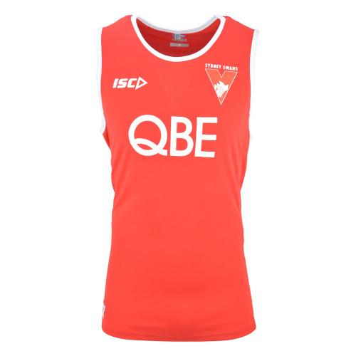 Sydney Swans 2019 ISC Mens Training Singlet Red