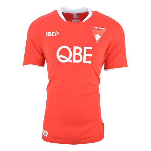 Sydney Swans 2019 ISC Kids Training Tee Red