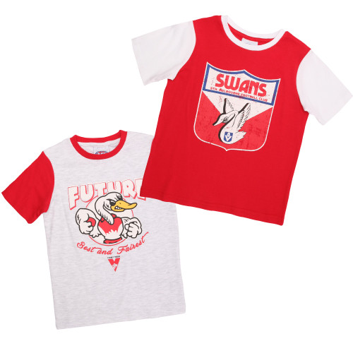 Sydney Swans 2019 Toddlers 2 Tees Pack