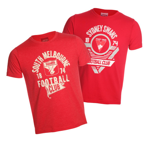 Sydney Swans 2019 Youth 2 Tees Pack