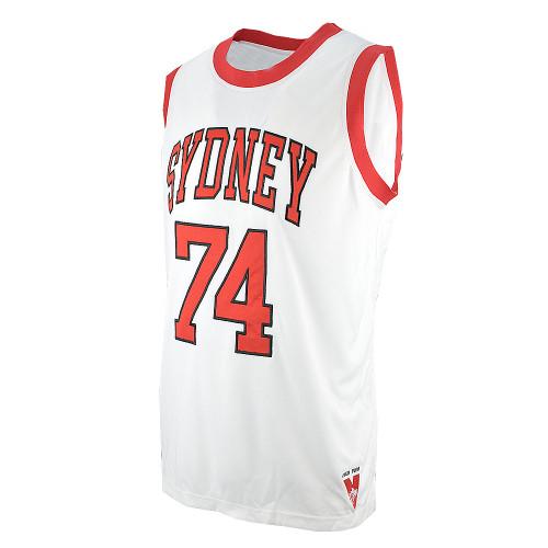 Sydney Swans 2019 Mens Club Basketball Jersey