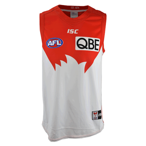 Sydney Swans 2017 Mens Home Guernsey