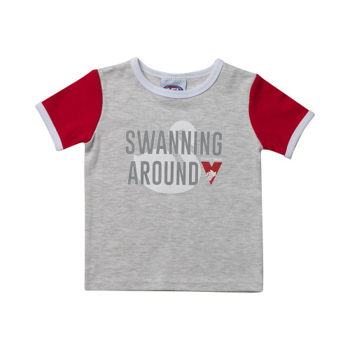 Sydney Swans 2019 Babies Ringer Tee