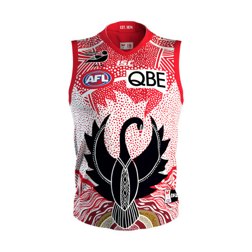 Sydney Swans 2019 Mens Indigenous Guernsey