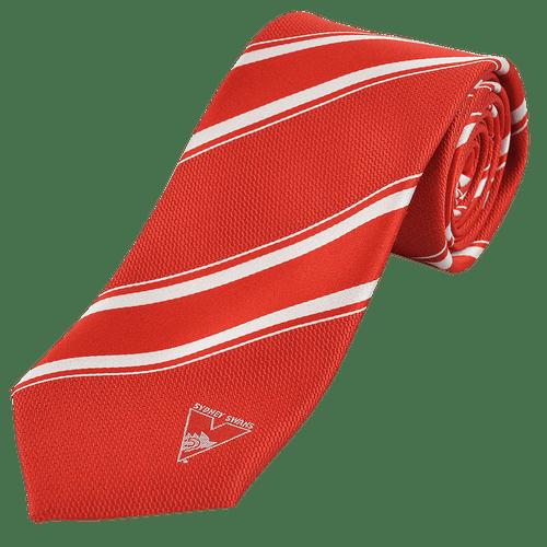 Sydney Swans Striped Logo Tie