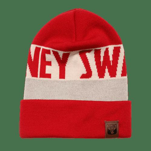 Sydney Swans Merino Wool Team Beanie