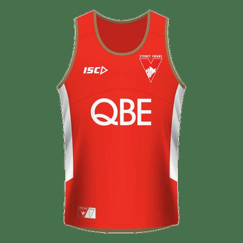 Sydney Swans 2017 Mens Training Singlet - Red