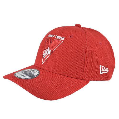 Sydney Swans 2019 New Era 9FORTY Cap - Scarlet
