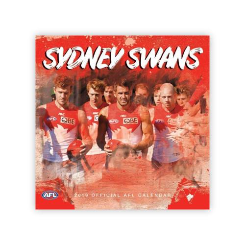 Sydney Swans 2019 Calendar