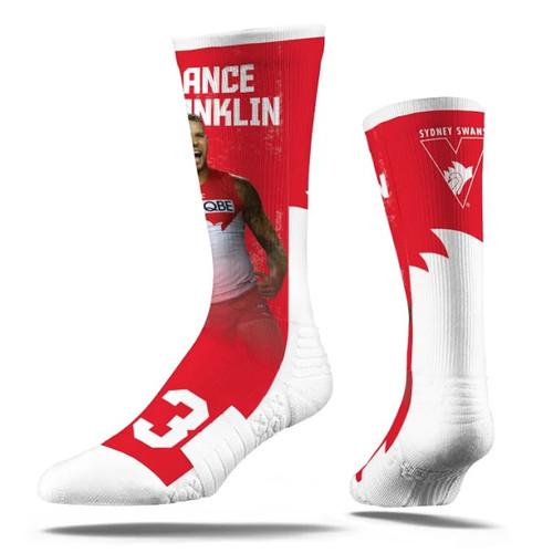 Sydney Swans Lance Franklin 23 Strideline Sport Socks