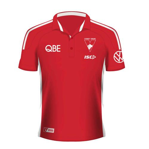 Sydney Swans 2020 ISC Mens Media Polo