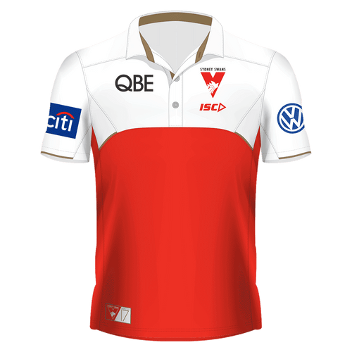 Sydney Swans 2017 Womens Players Polo - Red