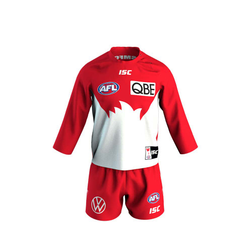 Sydney Swans 2020 ISC Toddlers Home Guernsey Set