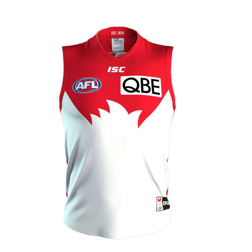 Sydney Swans 2020 ISC Kids Home Guernsey - Personalised