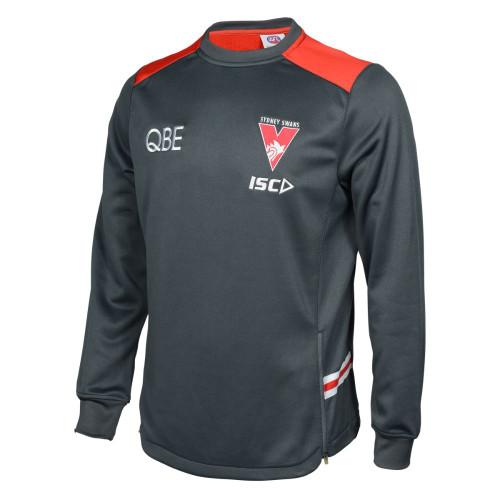 Sydney Swans 2020 ISC Mens Squad Crew Carbon