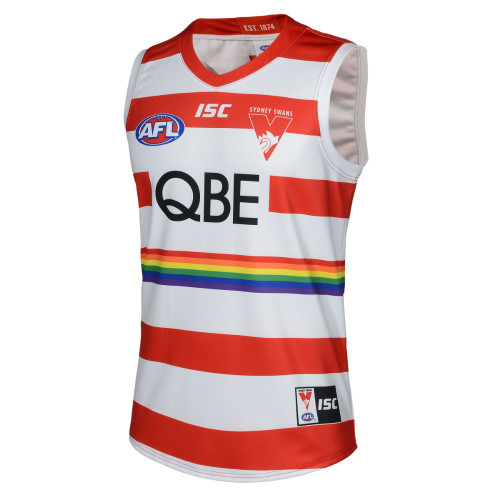 Sydney Swans 2020 ISC Womens Pride Guernsey