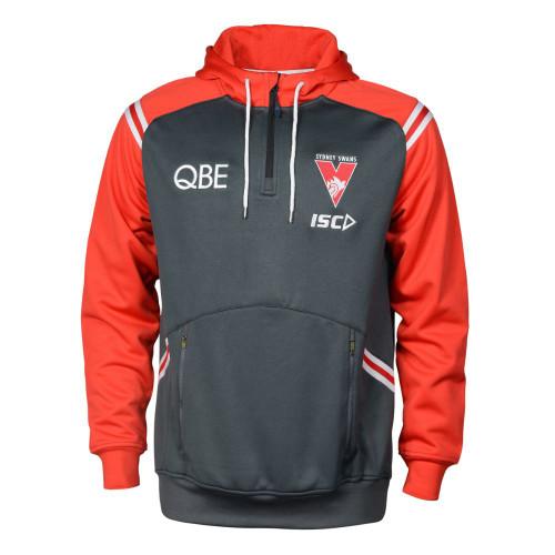 Sydney Swans 2020 ISC Mens Squad Hoody Carbon