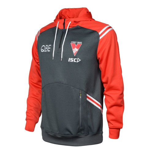 Sydney Swans 2020 ISC Mens Squad Hoody Carbon
