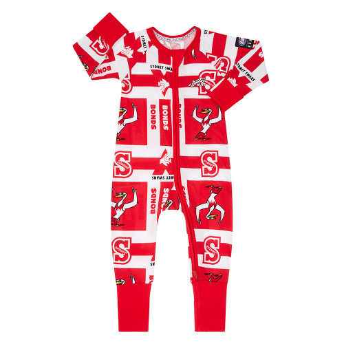 Sydney Swans 2020 Bonds X AFL Zip Wondersuit