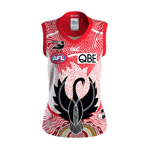 Sydney Swans 2020 ISC Womens Indigenous Guernsey