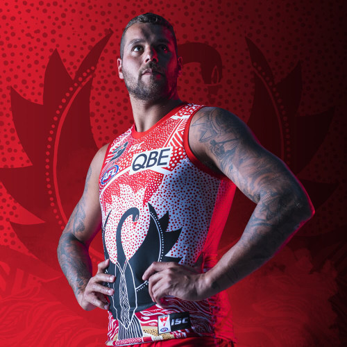 Sydney Swans 2020 Kids Indigenous Guernsey