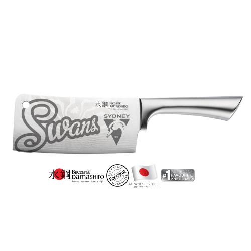 Sydney Swans Baccarat Damashiro Cleaver 17cm
