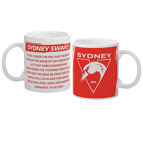 Sydney Swans New Logo and Song Mug