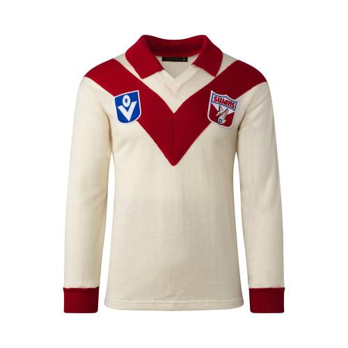 Sydney Swans Merino Wool Jumper - Long Sleeve