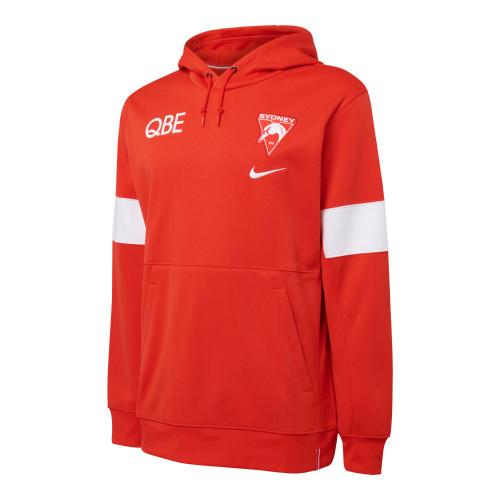 Sydney Swans 2021 Nike Mens Therma Hoodie Red
