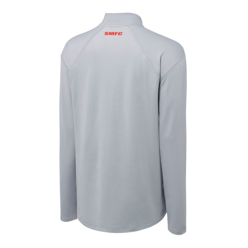 Sydney Swans 2021 Nike Mens Element Half-Zip Top Wolf Grey