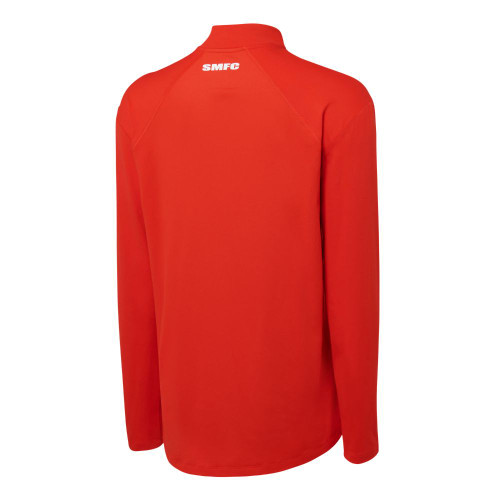 Sydney Swans 2021 Nike Mens Element Half-Zip Top Red