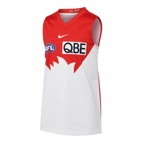 Sydney Swans 2021 Nike Kids Home Guernsey