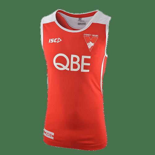 Sydney Swans 2018 Mens Training Singlet -Red/White