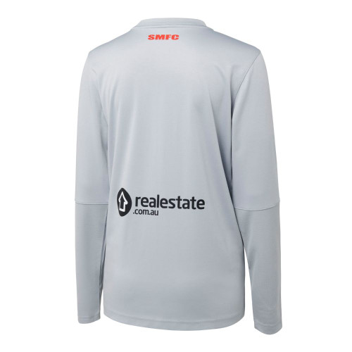Sydney Swans 2021 Nike Womens Long Sleeve Top Wolf Grey