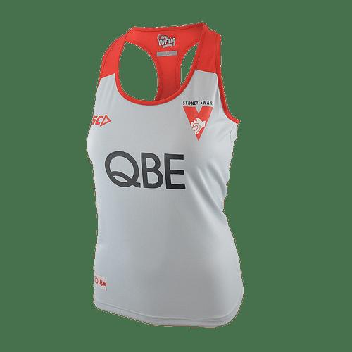 Sydney Swans 2018 Womens Racerback Training Singlet