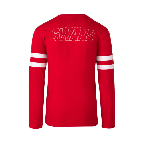 Sydney Swans 2021 Mens Supporter Long Sleeve Tee