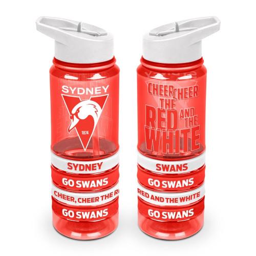 Sydney Swans 2021 New Logo Water Bottle wBands