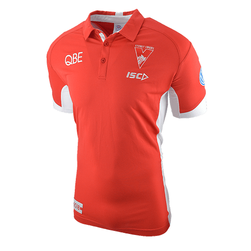 Sydney Swans 2018 ISC Mens Players Polo