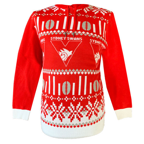 Sydney Swans 2021 Mens Hooded Ugly Sweater