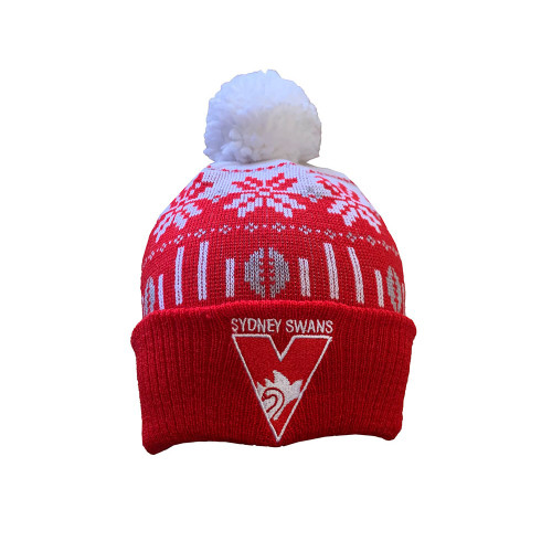 Sydney Swans 2021 Supporter Ugly Beanie