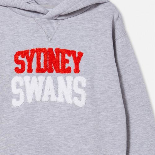 Sydney Swans 2021 CottonOn Kids Embroidered Hoodie
