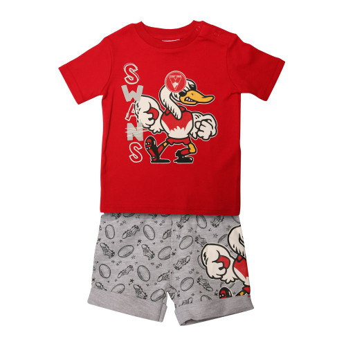 Sydney Swans 2018 Babies Tee & Short Pack