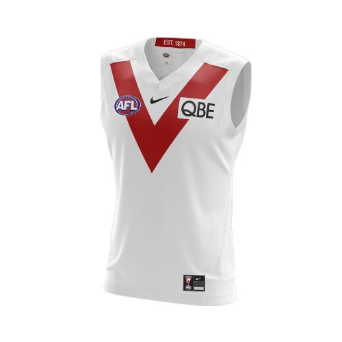 Sydney Swans 2021 Nike Mens Heritage Guernsey