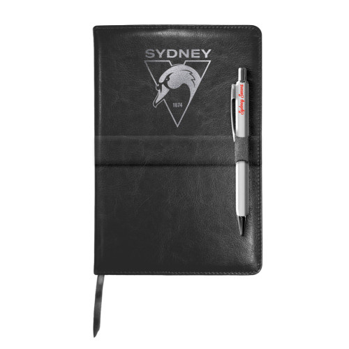 Sydney Swans Notebook and Pen Gift Set