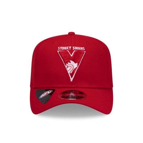 Sydney Swans New Era 950 Core Cap Scarlet