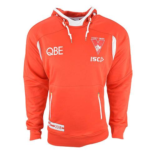 Sydney Swans 2018 Mens Red Squad Hood
