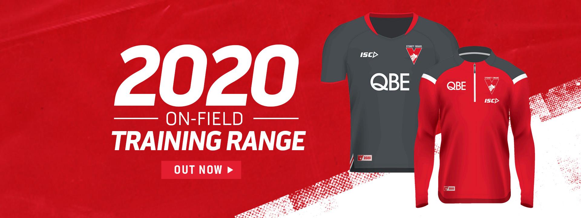 Sydney Swans 2020 ISC training range